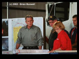 Wildfire:  Rodeo-Chediski 6-25-2002 -- President George W. Bush and Governor Jane Dee Hull Tour...