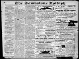 The Tombstone epitaph, 1882-03-07, DAILY EDITION