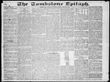 The Tombstone epitaph, 1882-05-20