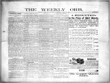 The Weekly orb, 1899-07-09