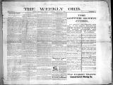 The Weekly orb, 1899-08-06