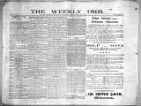 The Weekly orb, 1899-09-24