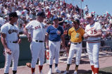Spring Training Action at Scottsdale Stadium 1991.