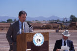 Scottsdale Stadium Groundbreaking 6/91.