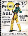 Cover of 5th Annual Scottsdale JC's Parada del Sol Program.
