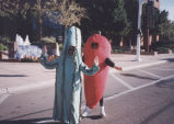 Costumed participants in the 1996 Parada del Sol Parade in Scottsdale.