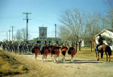 Scottsdale High School Marching Band in an early Parada del Sol Parade.