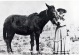Marjorie Thomas & Old Maud.