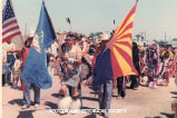 Native Americans at Parada circa 1980s.