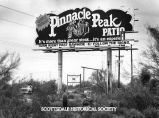 Pinnacle Peak Patio billboard.