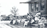 Scottsdale Residents in front of school house 1912.