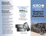 ADEQ Arizona department of environmental quality : changes to waste tire regulations