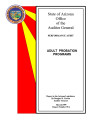 Program evaluation, adult probation programs