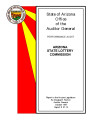 Performance audit, Arizona State Lottery Commission
