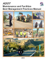 ADOT maintenance and facilities best management practices manual