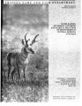 Home ranges, movement patterns, and habitat selection of pronghorn in central Arizona : a final...