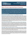Performance Audit and Sunset Review, State of Arizona Acupuncture Board of Examiners : a report to...