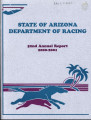 Annual report / Arizona Department of Racing