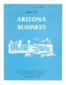 AZB Arizona Business: Arizona State University's Monthly Newsletter on the Arizona Economy