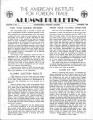 AIFT Alumni Bulletin, October 1950