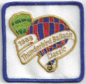 1989 Thunderbird Balloon Classic Patch