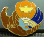 1982 Balloon Race pin