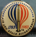 1983 Balloon Race pin