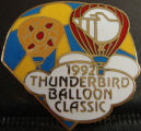1992 Balloon Race Balloon Classic pin