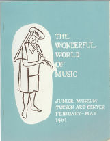 """The Wonderful World of Music"" Program"