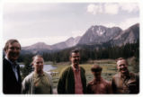 Morris K. Udall with friends and Nature
