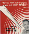 Pima County Attorney Campaign Literature