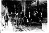 United Copper Company Smelter Employees in Jerome, Arizona, ca. 1890.