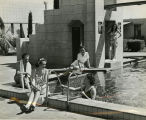 Arizona Biltmore Hotel Guests at the Hotel Pool