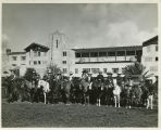 Children on Horseback at the Arizona Biltmore Hotel