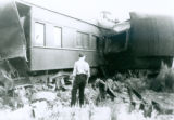 Train Wreck on the Atcheson, Topeka and Santa Fe Railway